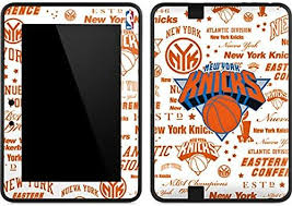 Amazon Com Skinit Decal Tablet Skin Compatible With Kindle Fire Hd 7 Officially Licensed Nba Ny Knicks Historic Blast Design Electronics