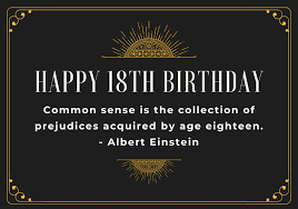 75 Incredible Happy 18th Birthday Messages And Sayings Futureofworking Com