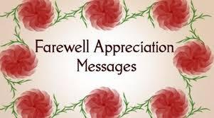 farewell appreciation messages farewell appreciation quotes