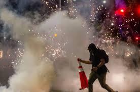 george floyd protest police clash