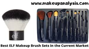best e l f makeup brush sets in the