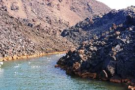 santorini volcanic islands hot springs