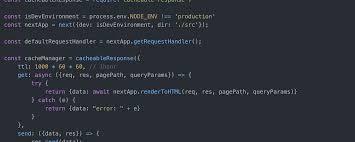 ssr request cache for react next js