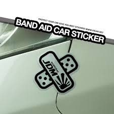 Noizzy Band Aid Car Sticker Jdm Decal Samurai Vinyl Auto Scratch Proof Cover Tuning Accessories Vehicle Motorcycle Car Styling Car Stickers Aliexpress