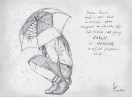 hujan dan air mata kekecewaan by himawarinana com on