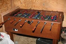 harvard foosball table real wood for
