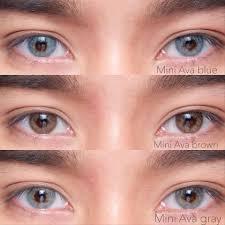 🧁Read stock。。 💥Mini Ava gray, brown... - Lovely Contact Lens | Facebook