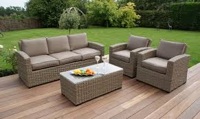 rattan garden sofa b q latest home