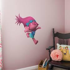 Fathead Poppy Trolls Movie X Large Officially Licensed Removable Wall Decal Walmart Com Walmart Com