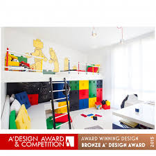 A Design Award And Competition Neslihan Pekcan Connected Box Kids Room