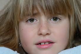cute portrait blond face