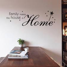 9348 Family Make This House A Home Quote Wall Stickers Inspirational Wall Decals Home Decor Home Decals Walls Home Decor Decals From Fst1688 5 31 Dhgate Com