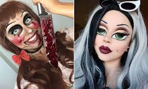 25 doll makeup ideas for halloween 2019