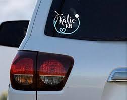 Nurse Car Decals Etsy