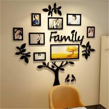 3d Arcylic Diy Family Photo Tree Sticker Home Decor Bedroom Art Picture Frame Wall Decals Poster S M L Xl Y200103 Wall Decals For Cheap Wall Decals For Girls Room From Shanye10 13 34 Dhgate Com