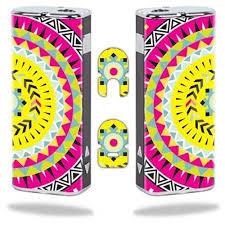 Vision Graphic Mightyskins Protective Vinyl Skin Decal Wrap For Eleaf Istick Vapor Mods Pen Vape Cover Sticker Skins Pink Aztec Rakuten Com