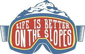 "Amazon.com: EW Designs Snowboard Ski Snow Adventure Lover Cartoon Goggles  Vinyl Decal Bumper Sticker (4"" Wide, 1): Kitchen & Dining"