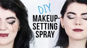 diy makeup setting spray you