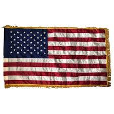 Image result for gold fringe flag