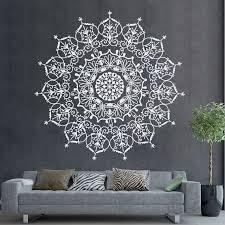 Mandala Wall Decal Mandala Sticker Mandala Wall Decal For Etsy Mandala Decals Wall Decals For Bedroom Mandala Wall Art