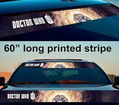 Whovian Hoonigan Style Doctor Who Tardis Car Vinyl Sticker Decal Nutree Ba