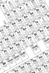 periodic table dictionary definition