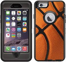 Amazon Com Teleskins Protective Designer Vinyl Skin Decals Stickers Compatible With Otterbox Defender Iphone 6 Iphone 6s Case Basketball Design Patterns Only Skins And Not Case Electronics