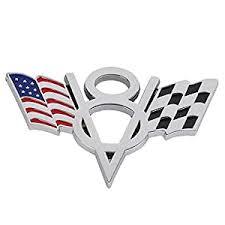 Metal V8 Usa American Flag Car Emblem Badge Sticker Decal For Ford Chevrolet Pr Archives Midweek Com