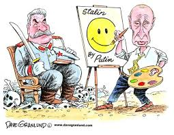 Картинка: Западные карикатуры на Путина и Медведева
