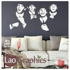 Decor Decals Stickers Vinyl Art The Beatles Wall Sticker Home Garden Entsrilanka Org