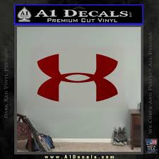 Under Armor Logo Decal Sticker A1 Decals