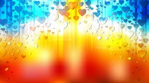 blue heart wallpaper background vector art