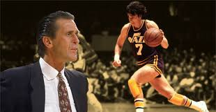 """RILEY ON PISTOL PETE """"Maravich is the most overrated superstar whoever came  down the pike""""   Basketball Network"""
