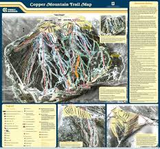 copper mounn trail map liftopia