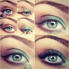 how to do pretty makeup for green eyes