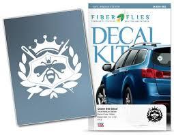 Queen Bee Vinyl Decal For Car Or Home Fiberflies Gifts