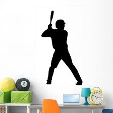 Baseball Wall Decal Wallmonkeys Com