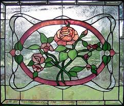 stained glass stained glass flowers