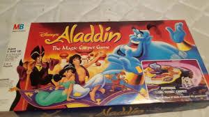 aladdin magic carpet board game disney