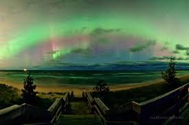 great lakes night sky
