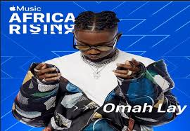 Omah Lay debut artiste for Apple Music new program 'Africa Rising'.