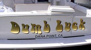Custom Vinyl Boat Lettering Boat Graphics Dana Point Orange County Ca
