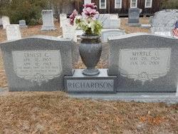 Myrtle I. Chism Richardson (1928-2001) - Find A Grave Memorial