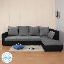 fabric 4 seater sofa