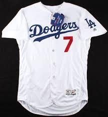 Julio Urias Signed Jersey (MLB Hologram ...