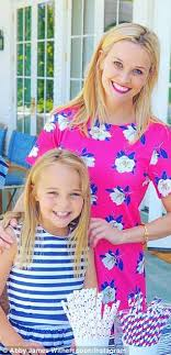 Reese Witherspoon's nieces star in Draper James mommy & me campaign | Daily  Mail Online