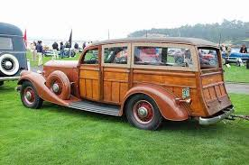 1934 Pierce Arrow 836A Cantrell Woodie... - The Blarg Motor ...