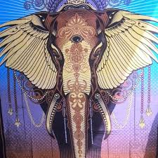 Wall Art Big Elephant Tapestry Wall Hanging Kids Room Decor Poshmark