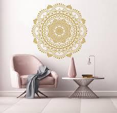 Bungalow Rose Mandala Namaste Boho Wall Decal Reviews Wayfair