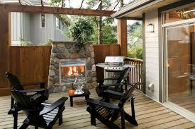 diffe types of outdoor fireplace kits